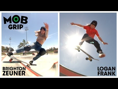 Brighton Zeuner & Logan Frank: Graphic MOBBIN' the Park | MOB Grip