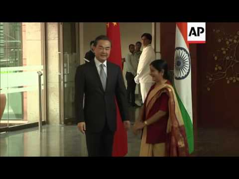 Chinese FM Wang Yi arrives in India for talks