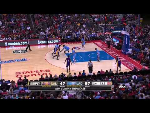 2014-04-06 Lakers vs. Clippers Full Highlights