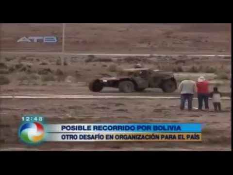 POSIBLE RECORRIDO DEL RALLY DAKAR 2016 EN BOLIVIA