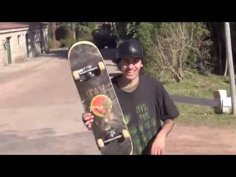Fernando Yuppie URUGUAY Skateboarding Skatelife TRAPMIX100
