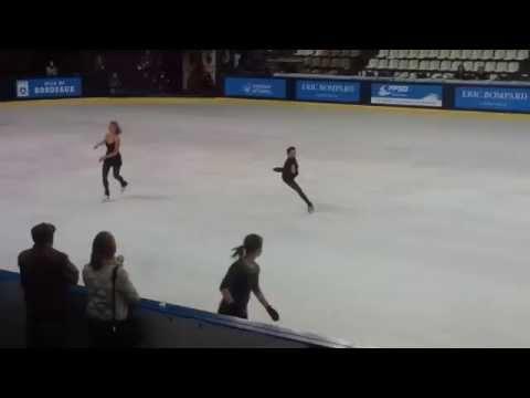 フランス杯 練習風景の動画