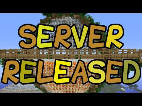 MINECRAFT SERVER RELEASED!