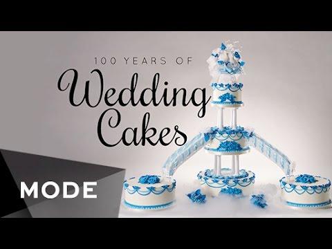ウエディングケーキの変遷100年を振り返ってみた♪