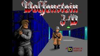 Wolfenstein 3D (100%, Pistol Start) Walkthrough (E1M2)