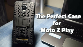 Moto Z Play best cover/case? chevron hybrid case review
