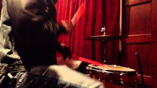 George Spanky McCurdy on drums... just a little mini jam
