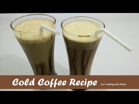 Cold Coffee Recipe by Cooking with Smita