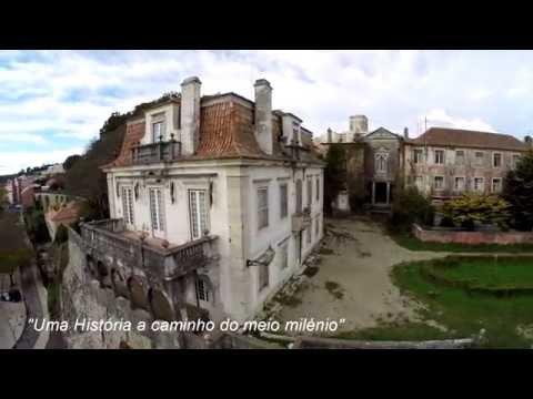 Voo Sobre Antigo Convento de S. Jos� de Ribamar em Alg�s - Oeiras