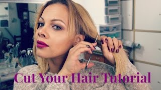 DIY: At Home Haircut | How to cut your own hair TUTORIAL