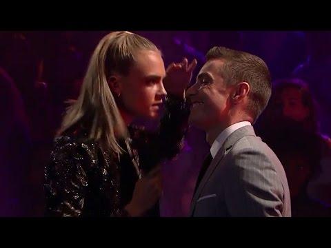 Cara Delevingne Slams Dave Franco in Rap Battle With James Corden
