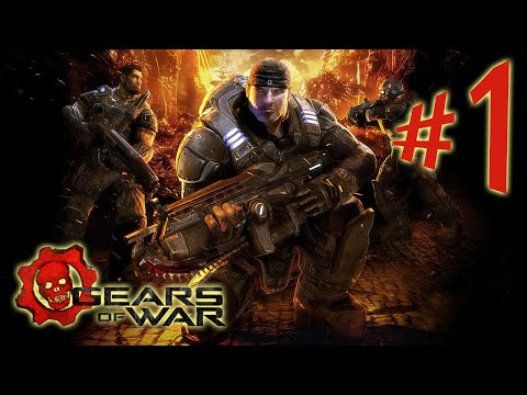 Gears of War Ultimate Edition - Parte 1: Marcus Fenix Boladão [ Xbox One - Playthrough PT-BR ]