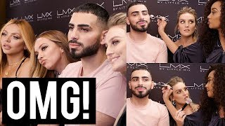 LITTLE MIX DOES MY MAKEUP!! - LMX MAKEUP INTERVIEW