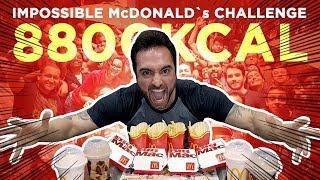Speed Challenge #2: Impossible McDonalds Challenge (8800kcal)