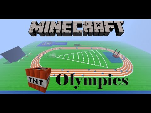 Minecraft TNT Olympics Episode 5: Crew (Rowing)