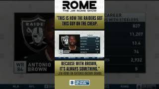 SD Clips: Jim Rome Calls Antonio Brown A Diva Wide Receiver