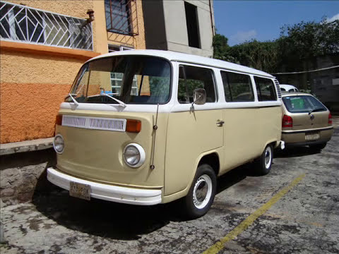 Bus vw Combi 1976 happy end
