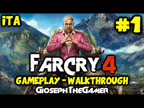 Far Cry 4 | Gameplay Walkthrough ITA PARTE 1 | Benvenuto nel Kyrat! By GiosephTheGamer
