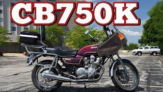 1981 Honda CB750K: Regular Car Reviews