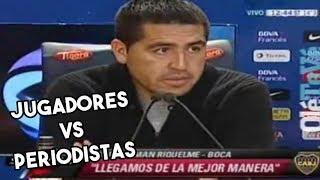 JUGADORES VS PERIODISTAS | Fútbol Argentino