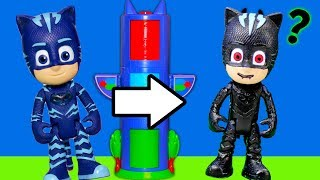VAMPIRINA Disney PJ Masks Transforming Towers Reverse Spooky Video