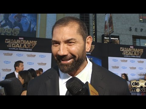 Dave Bautista Shares Dream Role At Guardians of the Galaxy Premiere