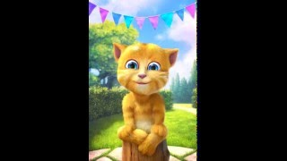 Ginger Cat Sings Wheels on the Bus Children