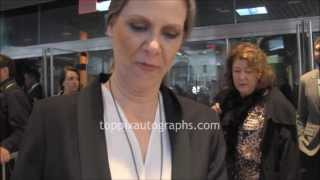 Amy Morton - Signing Autographs at the 2013 Tribeca Film Festival in NYC