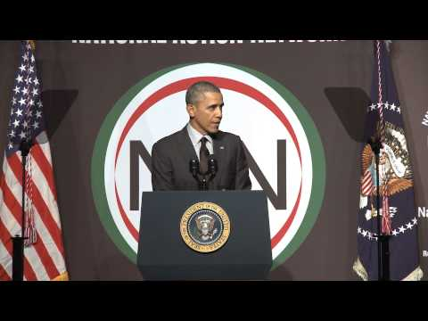 President Obama Keynotes National Action Network s 16th Annual National Convention