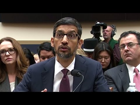 Google CEO Sundar Pichai questioned on tracking of users' locations