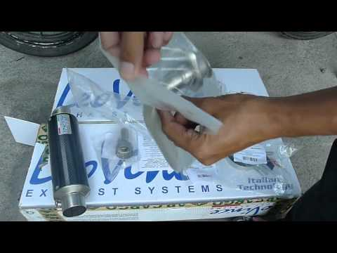 Unboxing Leovince GP Corsa Carbon Fiber 135LC Jupiter MX Sniper Exciter Spark Crypton X Exhaust