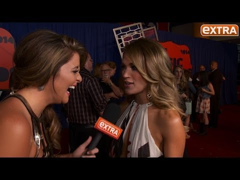 Cmt Music Awards: Carrie Underwood, Leann Rimes, And More On The Red Carpet! video