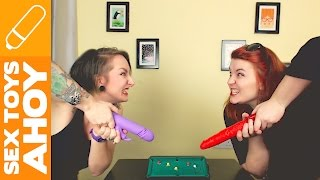 Can You Play Pool With Thrusting Vibrators?   Sex Toys Ahoy