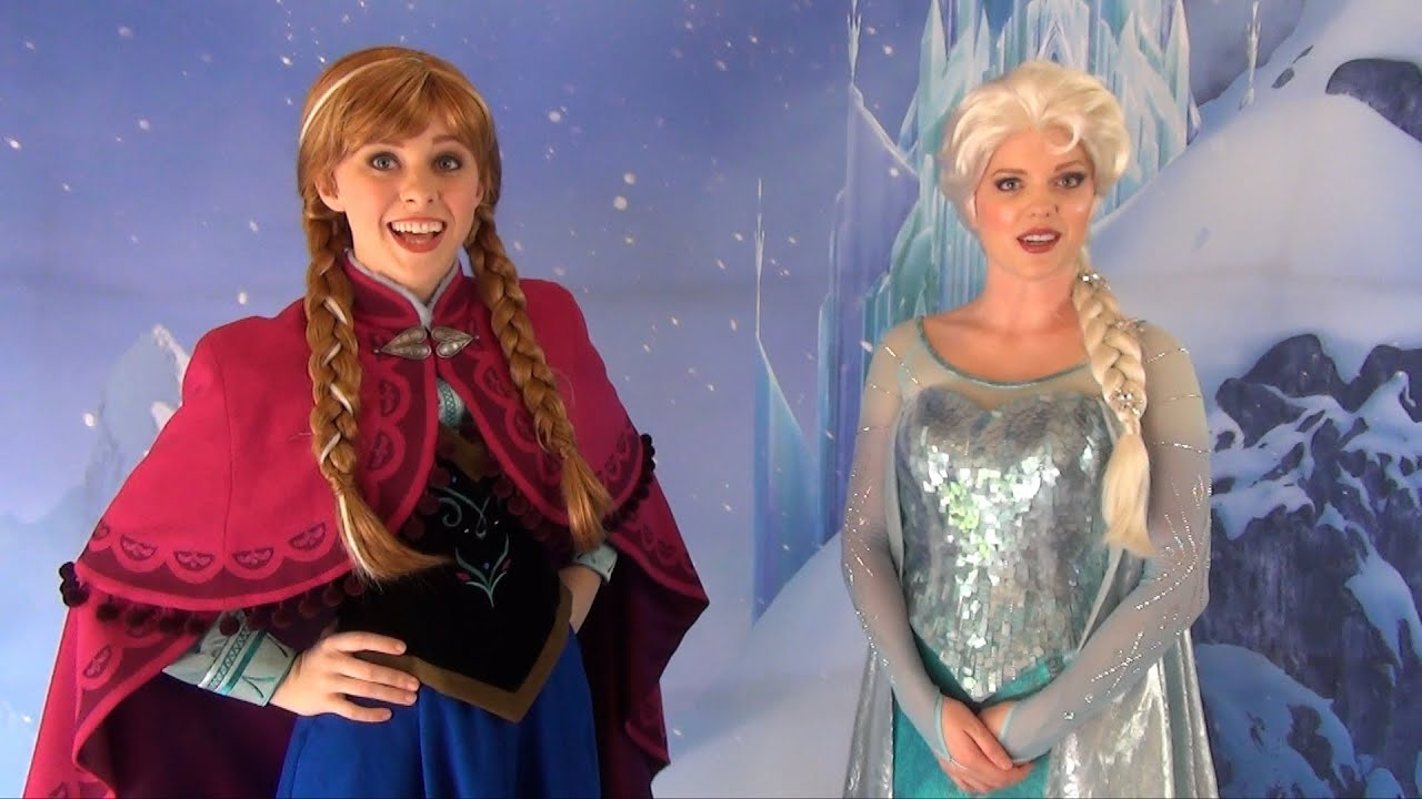 meet anna and elsa from frozen library
