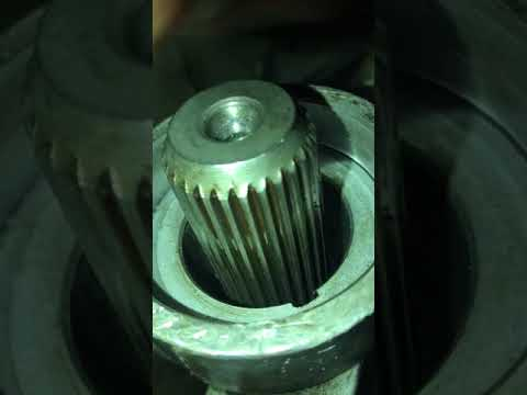 T5 tailshaft bushing. output shaft seal. and yolk replacement