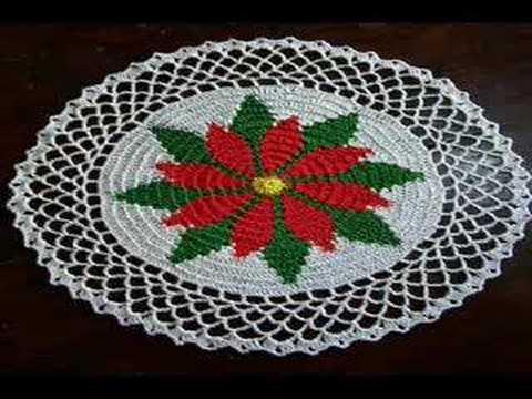 Buy crochet doilies: seasonal ones like poinsettia and ...
