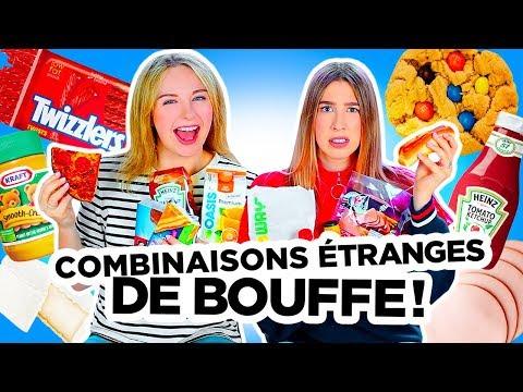 ON GOÛTE VOS COMBINAISONS ÉTRANGES DE BOUFFE 2018!   2e peau