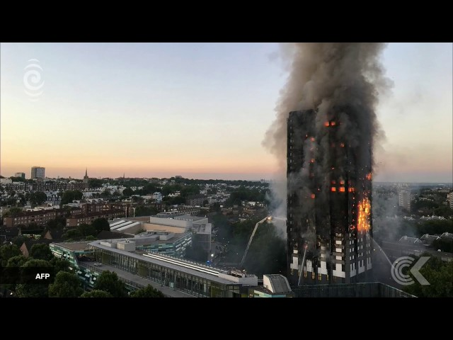 UK correspondent with the latest on the huge London building fire