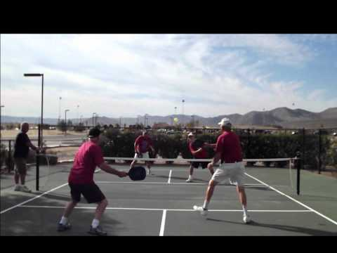 2012 OLDlymics Pickle Ball in Hemet, CA