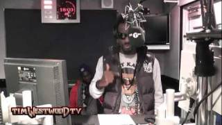 Westwood - Sarkodie demonstrates the Azonto Dance