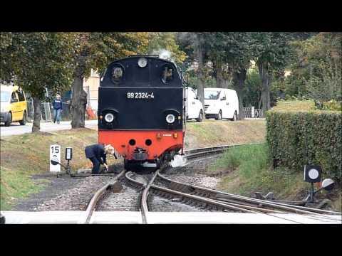 Mit der Molli Bahn von Bad Doberan nach Kühlungsborn und retour