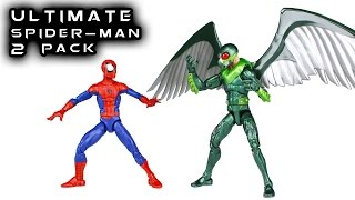Marvel Legends ULTIMATE SPIDER-Man & VULTURE Walmart Exclusive 2 Pack Action Figure Toy Review