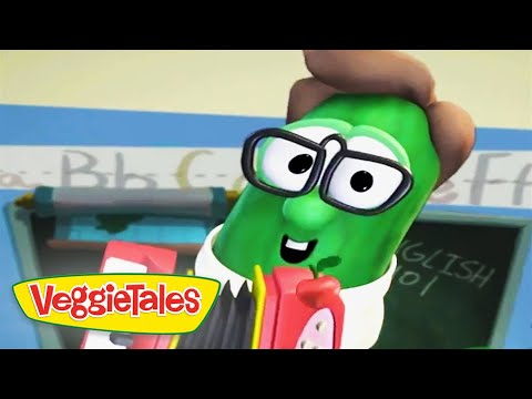 Veggie Tales   School House Polka  Silly Songs With Larry   Kids Movies   Videos For Kids