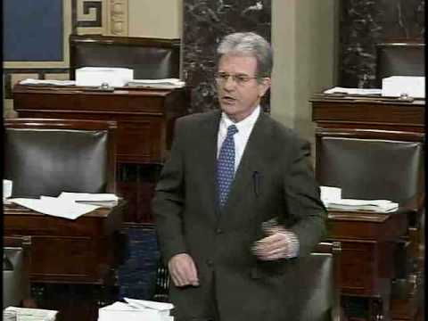 Senator Tom Coburn Highlights Disgust in Congress and Waste in Stimulus
