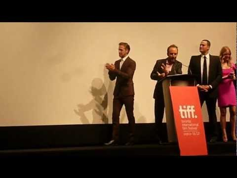 Ryan Gosling, Bradley Cooper and Eva Mendes Introduced at TIFF 2012- The Place Beyond the Pines