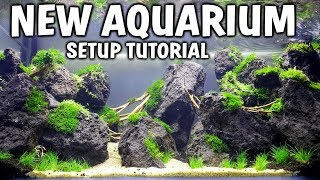 NEW High Tech Planted Aquarium Setup!