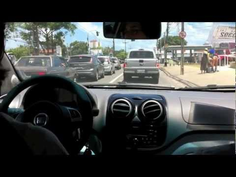 TestDrivePE Novo Fiat Palio 1.4 8v Attractive 2012 - Teste de rua (Mara no volante)