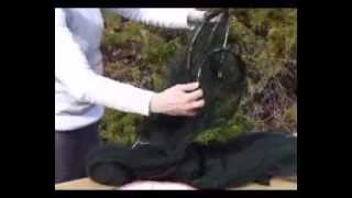 How to Fold Up the Atwater Carey® Double Circular Net - Bed Net for Bugs