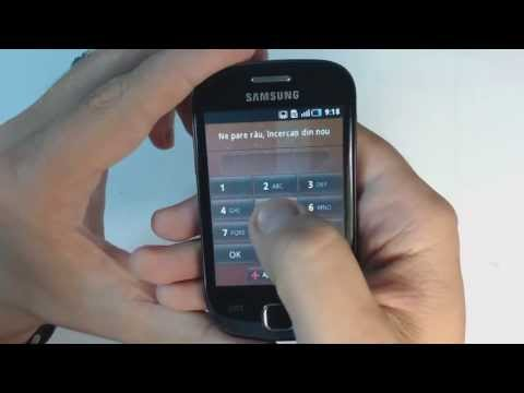 Samsung Galaxy Fit S5670 - How to reset - Como restablecer datos de fabrica