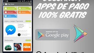 [App] Descarga Apps De Pago De Play Store 100% Gratis [FreeStore]